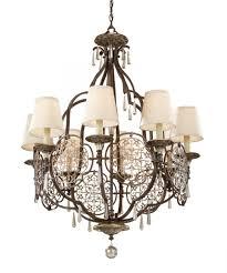 lighting impressive murray feiss chandelier 4 f2601 8brb obz murray feiss bellini chandelier