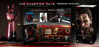 The Different Metal Gear Solid V The Phantom Pain Editions