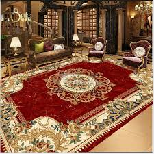 68 european style flower print area rug design waterproof 3d floor murals