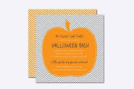 Pumpkin Invitations Template Chevron Pumpkin Halloween Invite Template