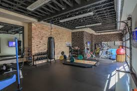 Contemporary Home Gym by Dallas Design-Build Firms Platinum Series by Mark  Molthan