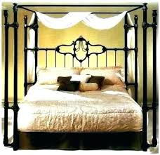 Wrought Iron Canopy Bed Modern Beds Powell Princess – Pages House ...