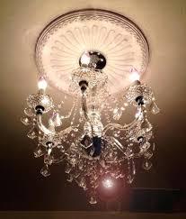 hampton bay chandelier bay maria 6 light chrome and clear acrylic chandelier the home depot hampton