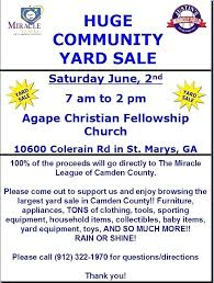 Yard Sale Flyers Inspirational Church Flyer Ninja Template
