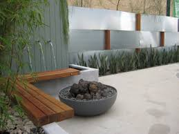 Modern Water Features Images About Water Features Gardens Wall And Fountain In House