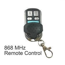 garage door opener remote keychain. 868 MHz Universal Remote Control Duplicator Cloning Copying Transmitter Gate Garage Door Opener Switches Key Fob Keychain A
