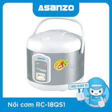 Nồi Cơm Điện Asanzo Rc-18aw (1.8l) giá tốt cập nhật 4 giờ trước - BeeCost