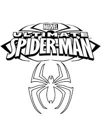 His main ability is to create a web, bind enemies with it and move around the city at high speed. Spiderman S Logo On Free Coloring Page Sheet To Download
