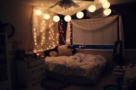 above bed lighting. this one has both lights above the canopy and a different type of lantern below is such cool look i like that trail down bed lighting