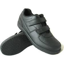 genuine grip slip resistant velcro closure athletic work shoegenuine grip slip resistant velcro closure athletic work shoe