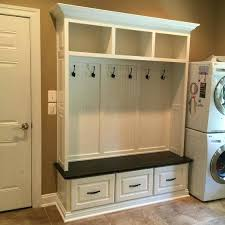 storage bench and coat rack best hall tree with ideas on entryway mudroom ikea