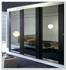 mirrored bypass closet doors white barn door with mirror interior door and closet company bedroom wardrobe