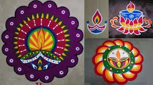 Easy Diya Rangoli Designs For Diwali Top 50 Beautiful Simple And Easy Diwali Special Indian