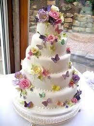 Stunning English Garden Wedding Cake All Edible Cakes