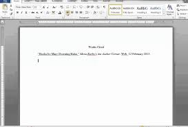 How To Make Work Cited Page How To Make Work Cited Page Major Magdalene Project Org