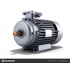 electric generator motor. Electric Motor Generator 3d Illustration On A White Background \u2014 Stock Photo M