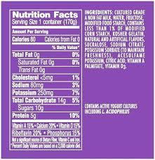 dannon light and fit greek yogurt nutrition label light and fit nutrition the label for lite fit vanilla yogurt a 6 ounce conner
