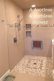 Shower Design Advantages And Disadvantages Of A Curbless Walk In Shower