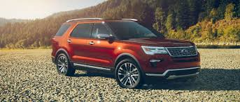 2017 Ford Explorer Color Chart Pictures Of All Ten 2018 Ford Explorer Exterior Color Options