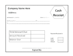 Cash Received Receipt Mesmerizing Receipt Received Voucher With Thanks Payment Template Not Email