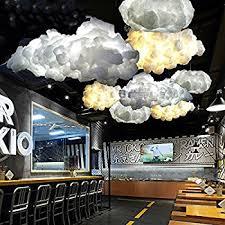 cloud lighting fixtures. injuicy lighting loft cloud e27 led droplight silk pendant lamp bar cafe balcony ceiling light fixtures d
