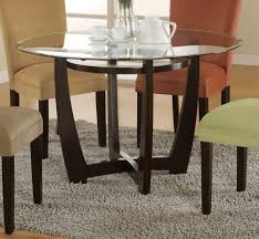 Glass Dining Room Table Bases Coaster Fine Furniture 101490 Cb48rd Bloomfield Round Dining Table