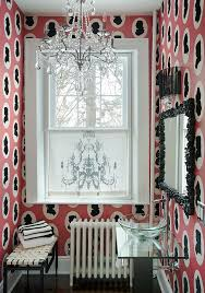 snazzy wallpaper also brings along with it a hint of feminine charm design favreau