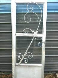 decorative metal screen doors cabinet door insert great aluminum inserts wire mesh m