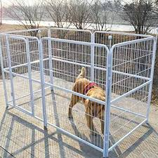 large dog exercise pen. Exellent Dog Paw Essentials Heavy Duty Pet Play And Exercise Pen With 6 Panels For  Medium To Large Dogs  37 X 39in Each Panel White  Details Can Be Found By  To Dog C