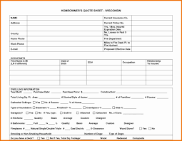 construction job estimate template free with home insurance quote sheet template