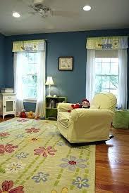 childrens room rugs baby nursery floor idea with fl area rug on wood floor kids room