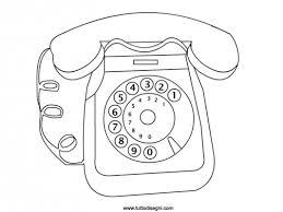 Telefono Disegno Da Colorare Tuttodisegnicom