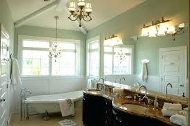 surprising bathroom light chandelier vela 3 light bathroom chandelier