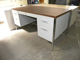 office metal desk. Used Steelcase 30\ Office Metal Desk