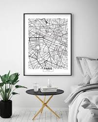map of decor london paris new york city map wall art paint wall decor canvas