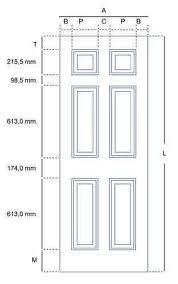 Standard Bedroom Door Size