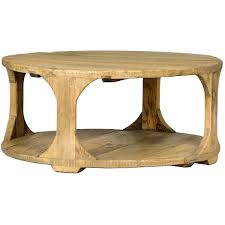 dovetail round coffee table