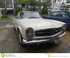 Convertible Mercedes Benz 230 SL Editorial Image - Image of ...