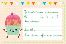 Carte Invitation Photo Carte Dinvitation Cupcake 8 Cicupcake