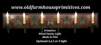 primitive bathroom lighting. primitive vanity bar light bathroom lighting r