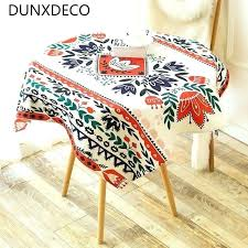 country tablecloths tablecloth table cover fabric flora style heavy linen quality home round desk ground french french country tablecloths round