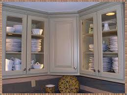 wall mounted kitchen cabinets with glass doors