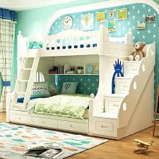 white furniture decor bedroom. Double Bed Kids White Wooden Bunk Beds Bedroom Decor Ideas For Small Rooms Furniture
