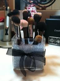 do it yourself sephora brush holders things you will need colorfill available at craft s like michael s um large gl jar makeup