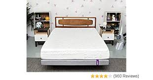 Purple Queen Mattress | Hyper-Elastic Polymer Bed Supports Your Back Like A Firm Mattress and Cradles Your Hips and Shoulders Like A Soft Mattress - ...