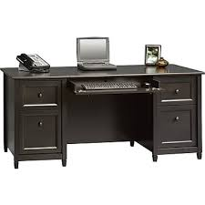 office desk staples. Sauder® Edgewater Collection Executive Desk, Estate Black Office Desk Staples
