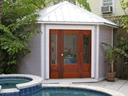 small pool shed. Corner Shed, Cabana, Toronto, Backyard Building, Pool House, Small Shed