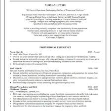 Resume Sample For Nursing Job Nurse Midwife Resume Resume Sample For Nursing Job Sample Resume 24