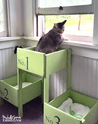 this diy cat bed started out from the only