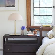 large nightstand modern mushroom lamp